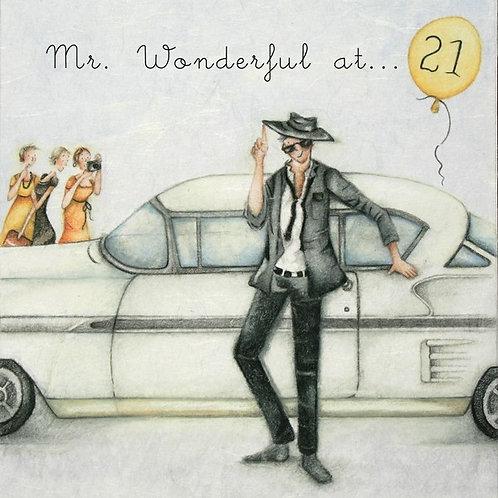Mr Wonderful at... 21 Berni Parker Card