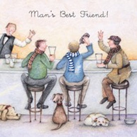 Man's Best Friend Berni Parker Card
