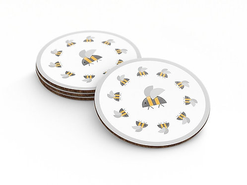 Urbee Queen Bee Coaster Grey