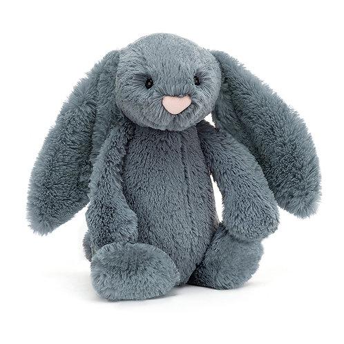 Jellycat Bashful Dusky Blue Bunny - Various Sizes
