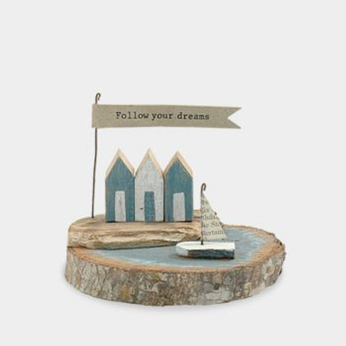 East of India Follow your dreams Diorama Ornament