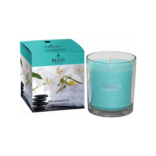 Prices Spa Moments Boxed Jar Candle