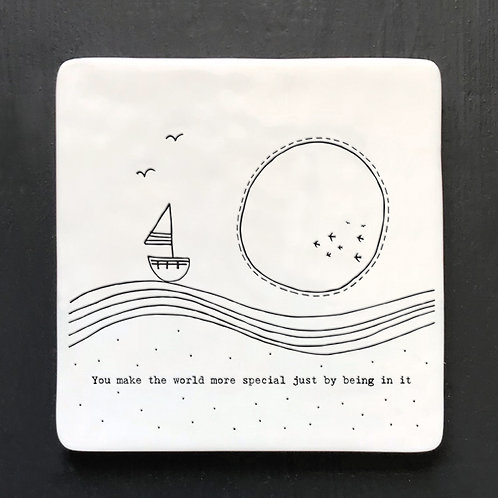 East of India Twig Coaster - Make the world more special