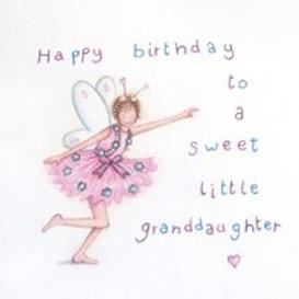 Happy Birthday Granddaughter Berni Parker Card