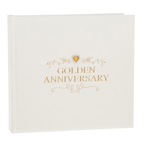 Golden Anniversary Jewel Photo Album
