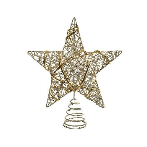 Iron Treetopper Star (Gold)