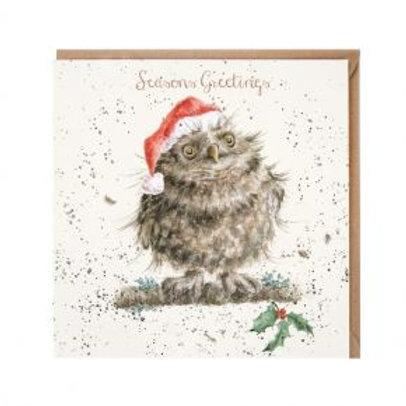 Wrendale Christmas Owl Christmas Card