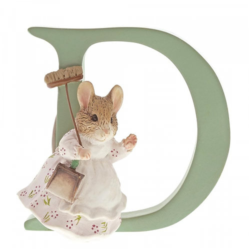 Beatrix Potter Ceramic Letters - Letter D