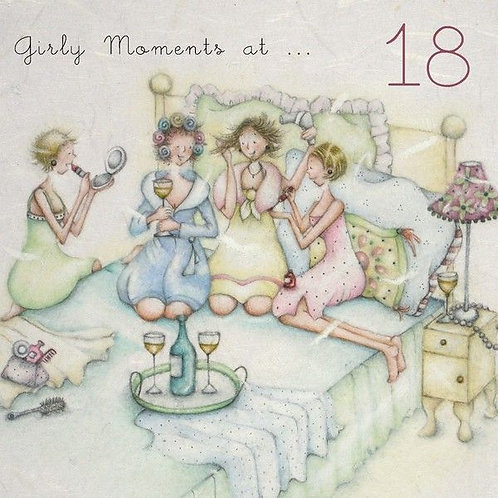 Girly moments at...18 Berni Parker Card