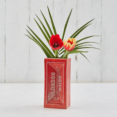 London Brick Vase
