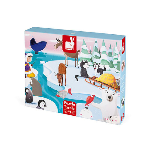Tactile Puzzle - Life on the Ice