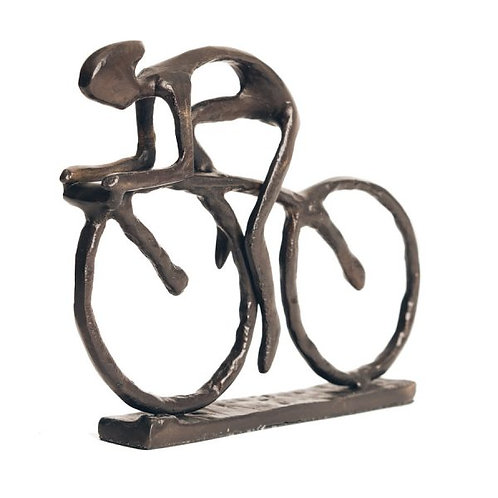 Bentley and Bo Bronze Colour Cyclist