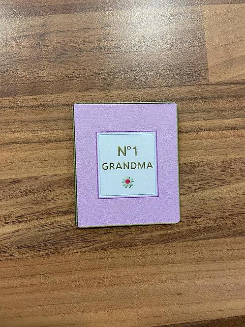 No.1 Grandma Magnet