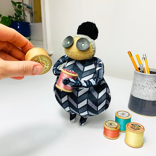 Mini Burt by Ruby Ruth Dolls