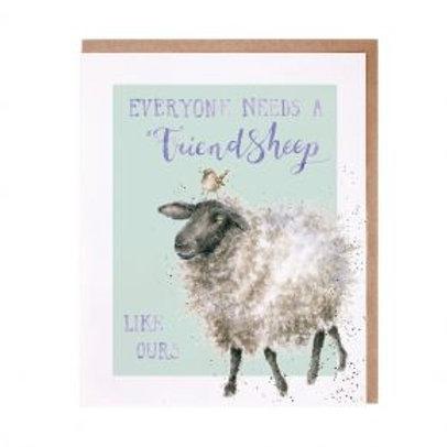 Friendsheep... Wrendale Card