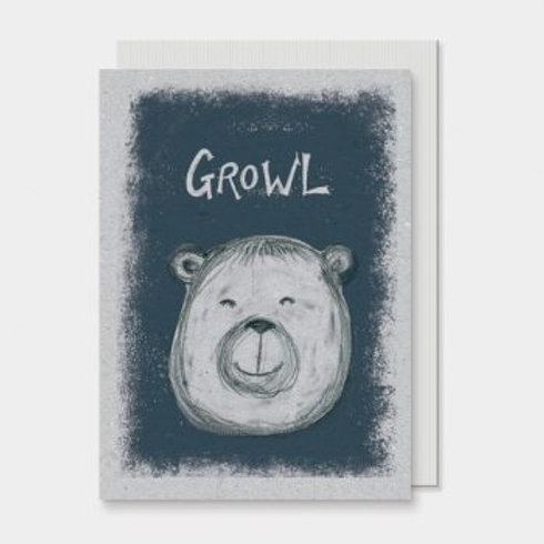 Growl East of India Card