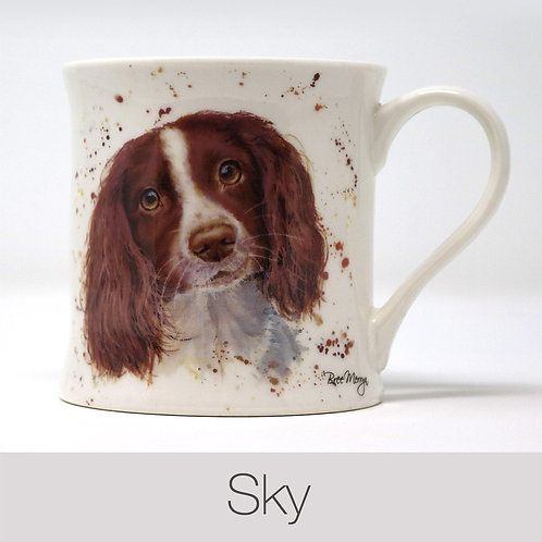 Bree Merryn Sky the Springer Spaniel Mug