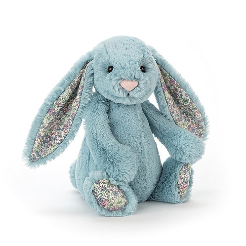 Jellycat Blossom Aqua Bunny (Medium)
