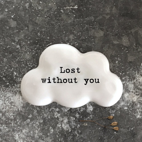East of India Cloud Token - Lost without you