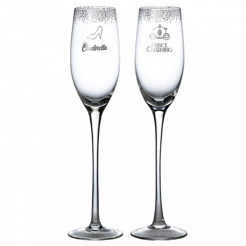 Disney's Cinderella Wedding Toasting Glasses