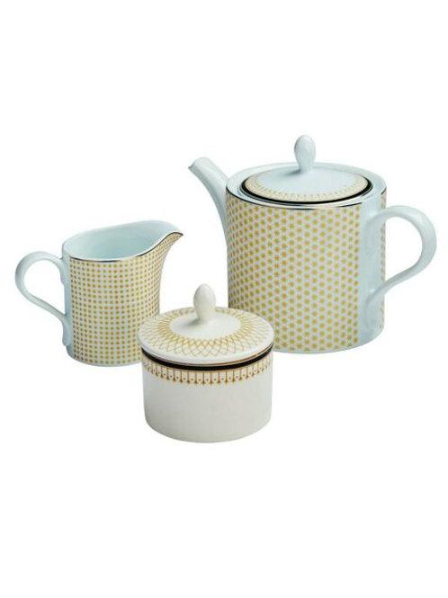 Portmeirion Studio 3 Piece Teapot Set