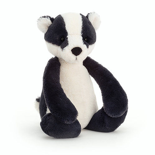 Jellycat Bashful Badger (Medium)
