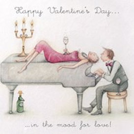 Happy Valentines Day... in the mood for love! Berni Parker Card