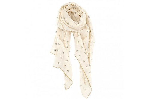 Raine and Humble Margherita Simple Taupe Scarf