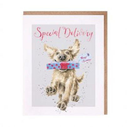 Wrendale Special Delivery Card