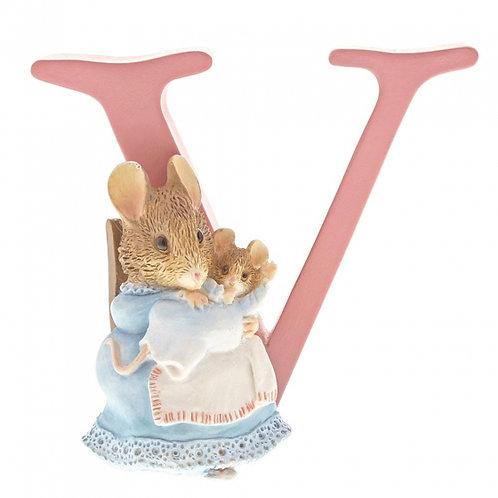 Beatrix Potter Ceramic Letters - Letter V