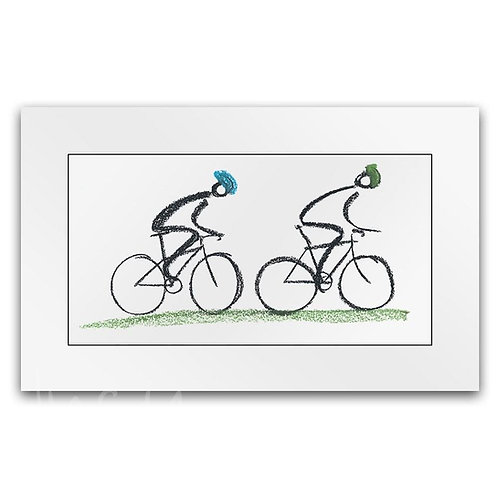 Lucy Pittaway Country Ride Print