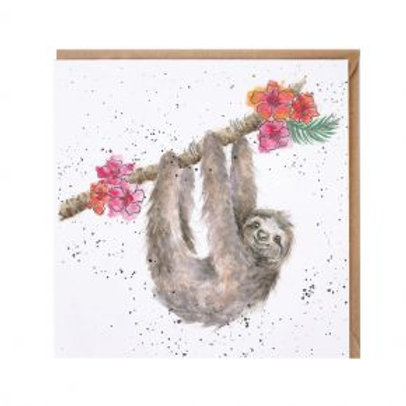 Sloth Wrendale Card