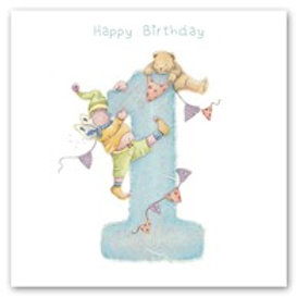 Happy Birthday... 1 Berni Parker Card