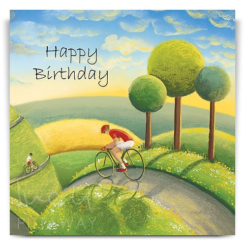Rolling through the Dales Lucy Pittaway Card