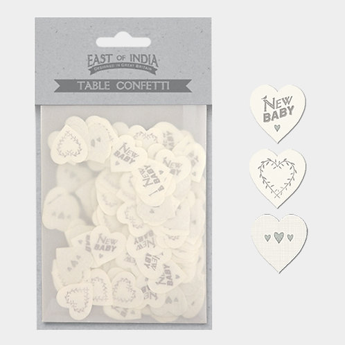 East of India New Baby Table Confetti