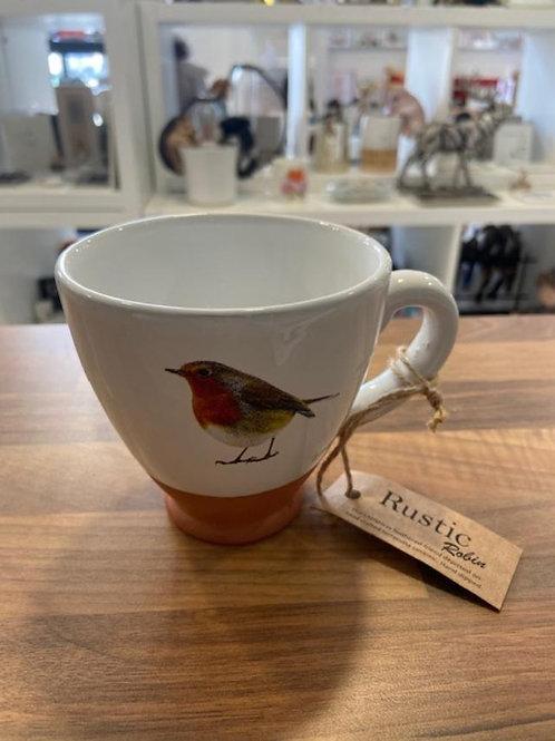 Divine Rustic Robin Mug
