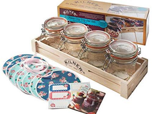 Kilner 31 Piece Clip Top Jam Jar Set