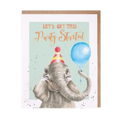 Wrendale Get this party started Card