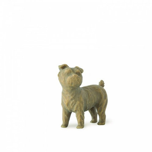 Love my Dog (Small standing) Willow Tree Figurine