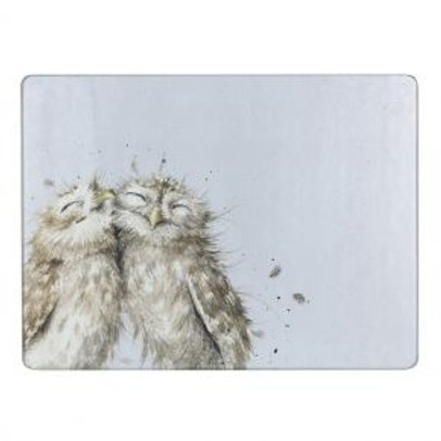 Wrendale Owl Glass Worktop Saver