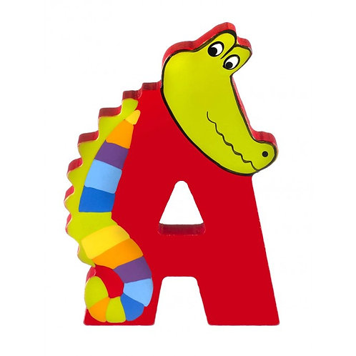 Wooden Letter A