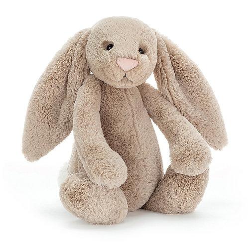 Jellycat Beige Bashful Bunny - Various Sizes
