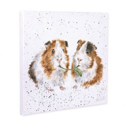 Wrendale Lettuce be friends Small Canvas