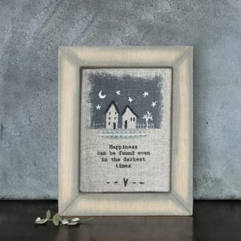 Darkest Times... Embroidered Picture