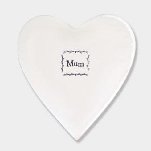 Mum Heart Coaster