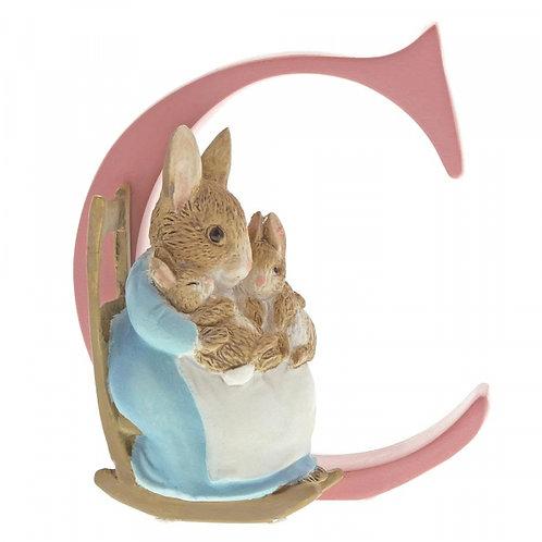 Beatrix Potter Ceramic Letters - LetterC