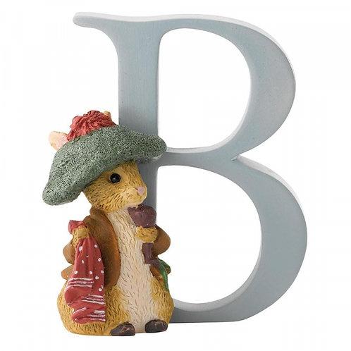 Beatrix Potter Ceramic Letters - Letter B