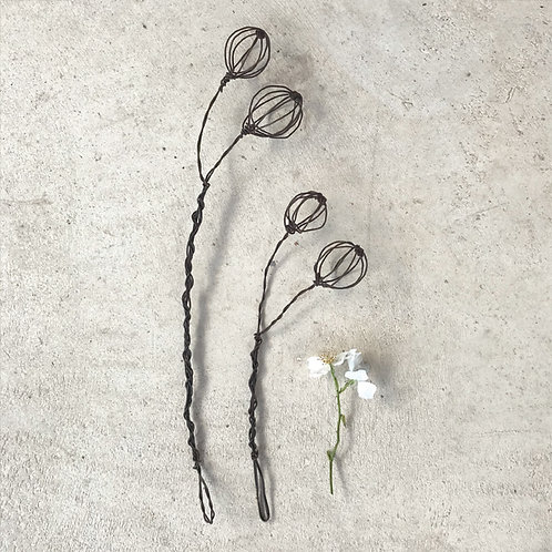 East of India Wire Sprig - Berries