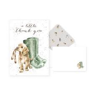 Wrendale A little thank you Thank you Card Pack