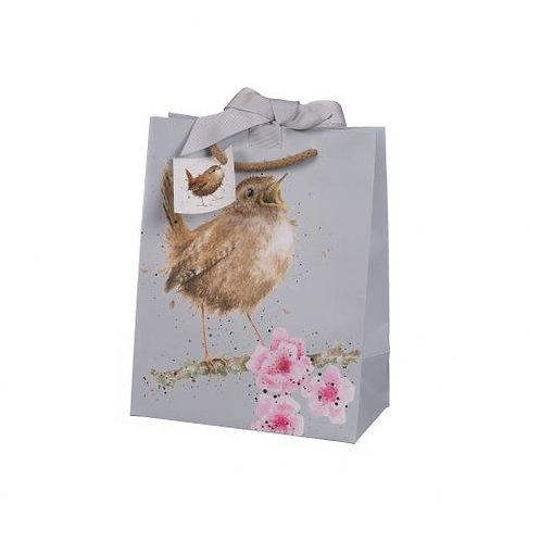 Wrendale Medium Gift Bag - Bird
